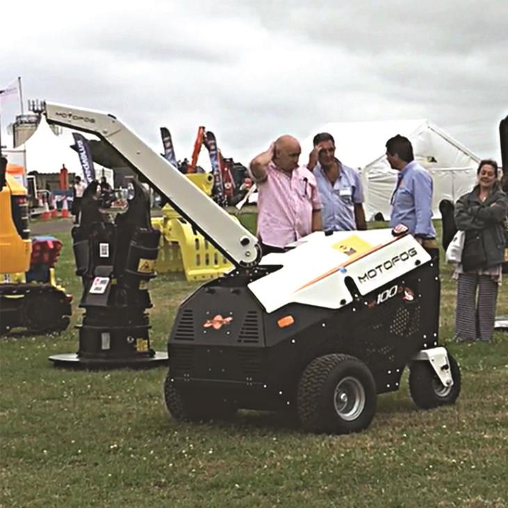 Inmalo unveil Motofog MF100D at DemoExpo