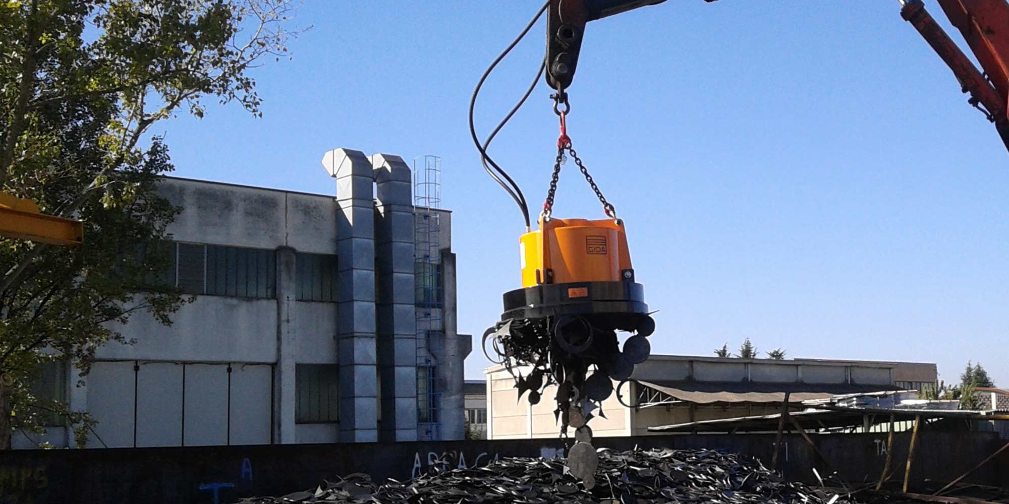GI-DA Magnets - Demolition & Waste Recycling Magnets