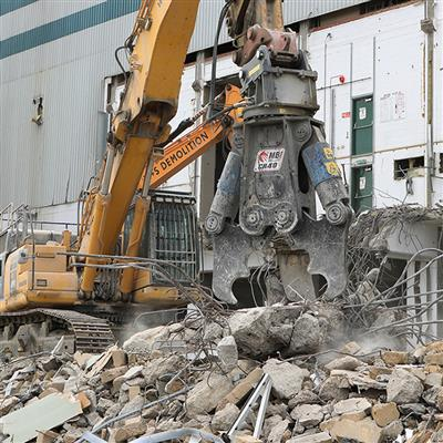 Brand power and reliability, MBI the choice for W&S Demolition.