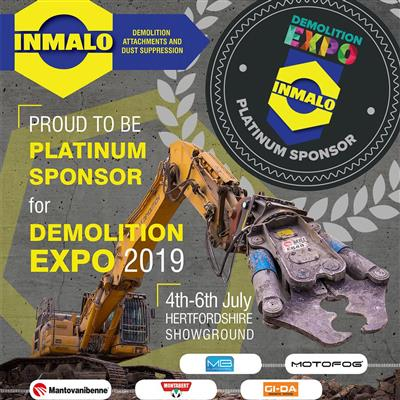 INMALO Announce platinum sponsorshiop of demo expo