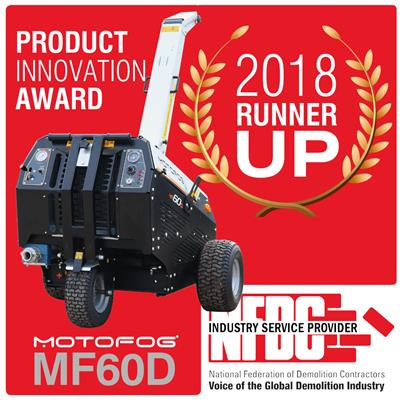 Motofog MF60D innovation confirmed by NFDC